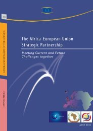 The Africa-European Union Strategic Partnership - Europa