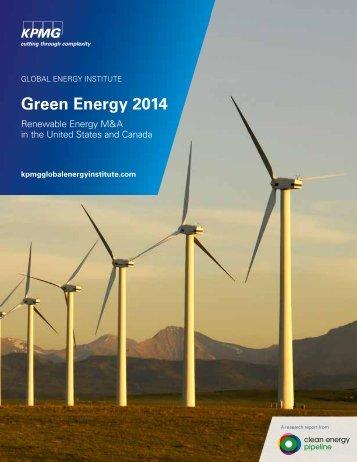 Green Energy 2014