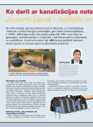 Ko darīt ar kanalizācija notekūdeņiem un lietusūdeņiem - Sia ARX