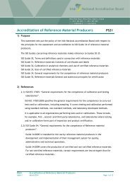 Accreditation of Reference Material Producers - INAB