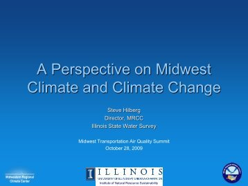 A Perspective on Midwest Climate and Climate Change - ladco