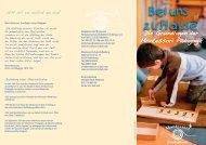 Flyer herunterladen... - Montessori Schule