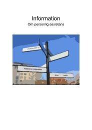 Information om personlig assistans - Ljungby