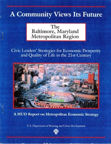 A Community Views Its Future - Global Urban Development