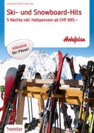 Ski- und Snowboard-Hits