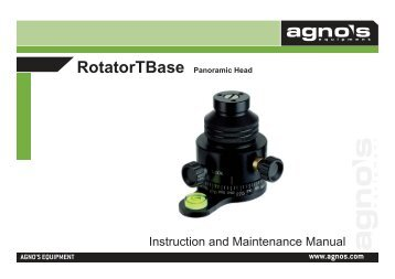 RotatorTBase Panoramic Head - Agno's