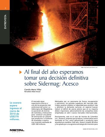 Acesco - Revista Metal Actual