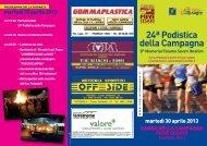 Locandina pieve cesato podistica campagna 2013 - Gruppo Podisti ...