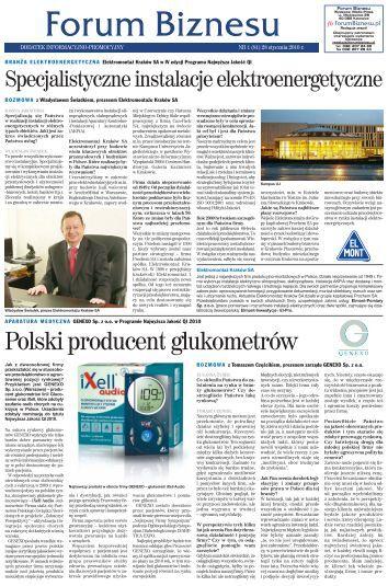 Forum biznesu z 28 stycznia 10 (nr 19) - Infor