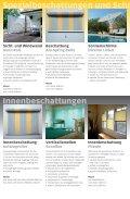 Gesamtübersicht Sonnenschutz-Systeme - Sonnentuch AG - Seite 5
