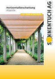 Aliante Prospekt - Sonnentuch AG