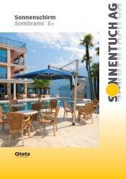 Sonnenschirm Sombrano - Sonnentuch AG