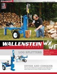 LoG SPLiTTerS - Edney Distributing Co. Inc.