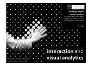 interaction and visual analytics - Information Engineering Group