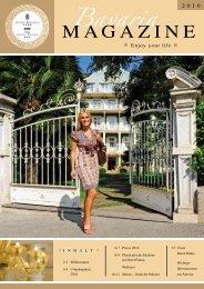 MAGAZINE - Hotel Bavaria & Hotel Palma