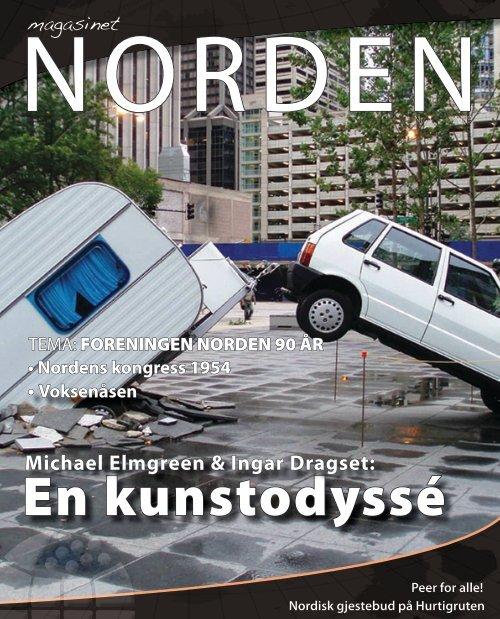 En kunstodyssé - Forsiden - Foreningen Norden