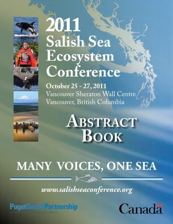 Salish Sea Ecosystem Conference - Verney Conference Management