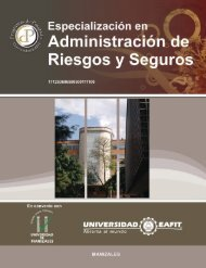 Riesgos y Seguros - Universidad EAFIT