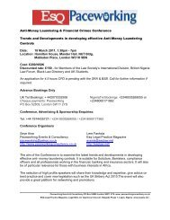 Anti-Money Laundering & Financial Crimes Conference - The Law ...