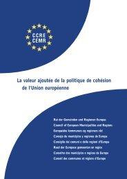 La valeur ajoutée de la politique de cohésion de l'Union européenne