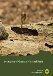 Evaluation of German National Parks