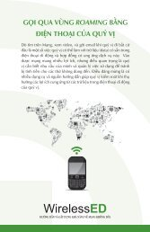 Roaming the World with Your Phone (Vietnamese) - Consumer Action