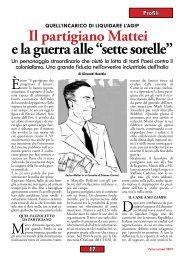 """Il partigiano Mattei e la guerra alle """"sette sorelle"""" di Giovanni ... - Anpi"""