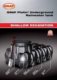 Graf Platin Underground Rain Water Tank | Reece