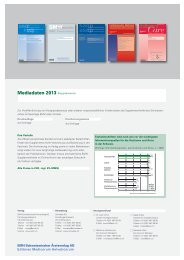 Mediadaten Suppl. 2013 - EMH
