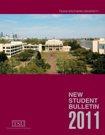 Texas Southern University: ::em.tsu.edu