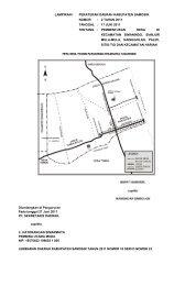 lampiran i peraturan daerah kabupaten samosir nomor - Pemerintah ...