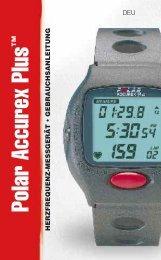 Polar Accurex Plus - Für Sport, Fitness und Wellness