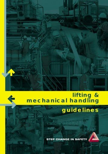 guidelines lifting & mechanical handling - OGP activities home