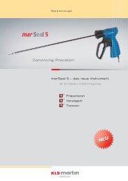 marSeal 5mm (PDF, 0.4 MB) - Handke Medizintechnik