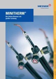 Minitherm Gesamt deutsch 29-09 - Messer Cutting Systems