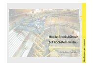 Mobile Arbeitsbühnen auf höchstem Niveau! - Businessportraits ...