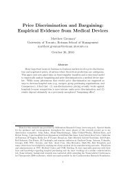 Price Discrimination and Bargaining: Empirical Evidence from ...