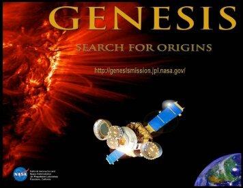 Search For Origins - Genesis - Nasa