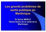 Santé publique en Martinique - Parhtage santé