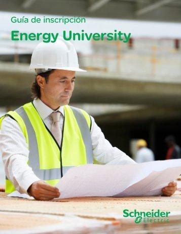 Guía de Inscripción a Energy University - Schneider Electric