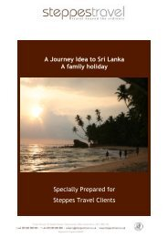 A Journey Idea to Sri Lanka A family holiday ... - Steppes Travel