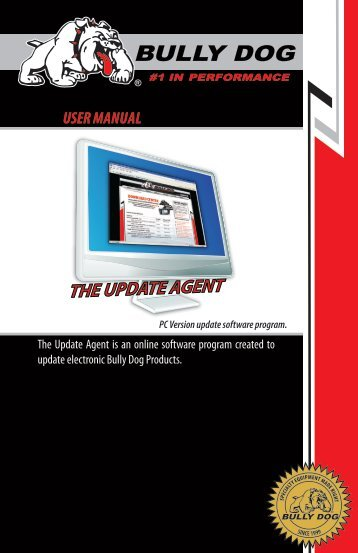 UPDATE AGENT USER MANUAl - Bully Dog