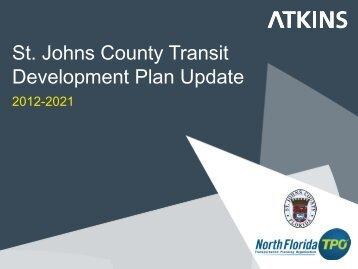 St. Johns County Transit Development Plan Update