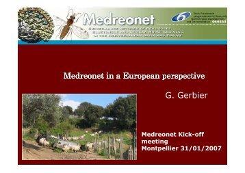 Medreonet & Europe