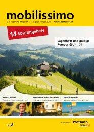 Mobilissimo, Das Postauto-Magazin - PostBus