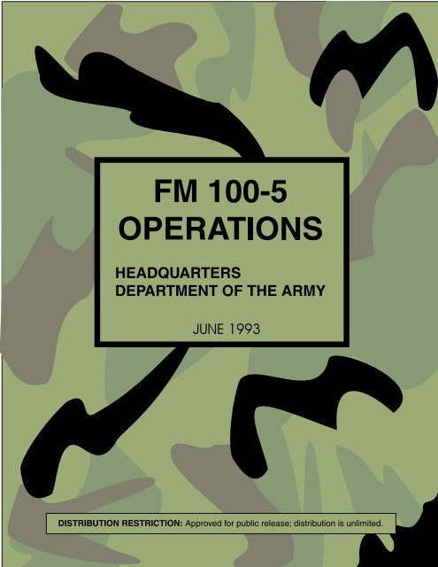 FM 100-5 Operations - CIE Hub