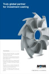 Truly global partner for investment casting - Eepcindee.com