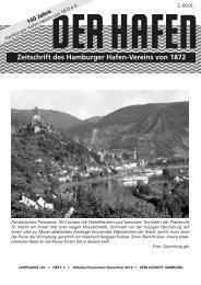 Zeitschrift des Hamburger Hafen-Vereins von 1872 - Soeth-Verlag