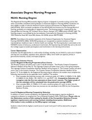 NU43: Nursing Degree - West Georgia Technical College