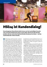 HSE24 ist Kundendialog! - Callcenter-Profi